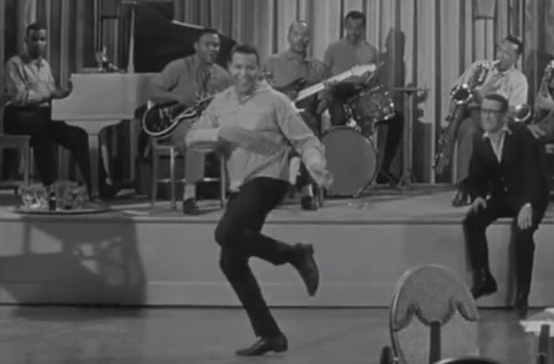 chubby checker dancing, american singer, dancer, 1960s hit music, the twist, 1960s movies, twist around the clock