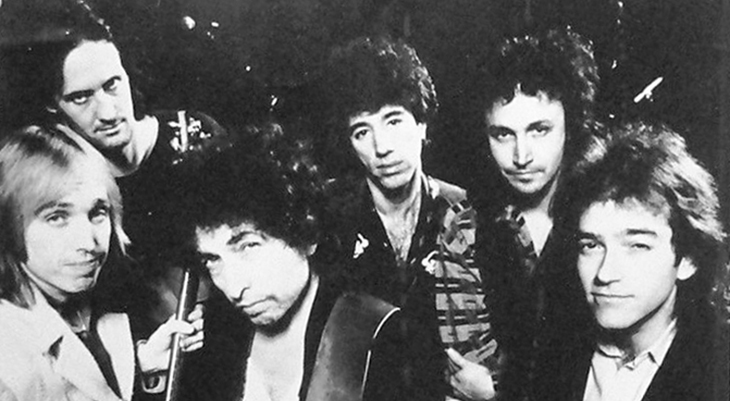 bob dylan 1983, tom petty and the heartbreakers, american rock musicians, folk rock singers, rock songwriters