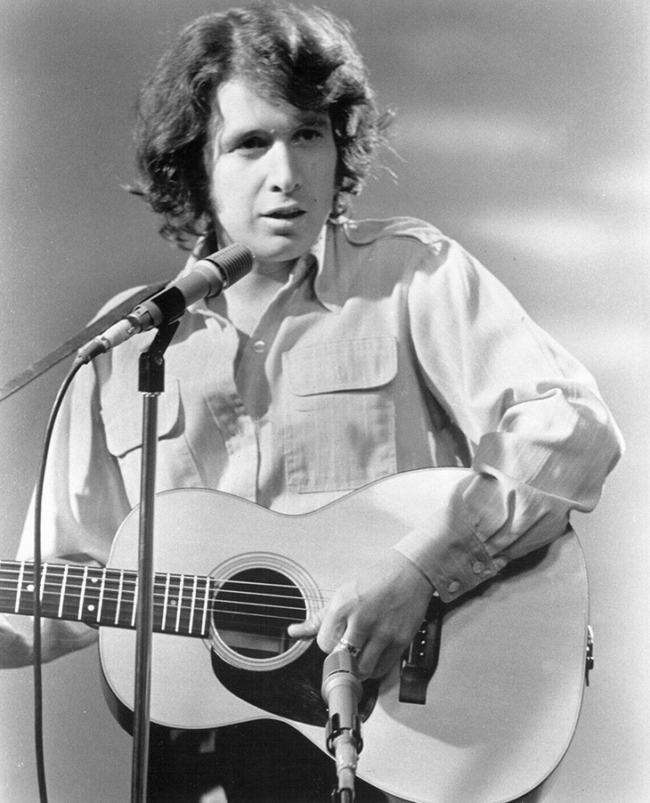 younger don mclean 1971, american singer, songwriter, 1970s rock songs, american pie, vincent