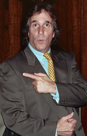 henry winkler 1990, american actor, producer, director, henry winkler older
