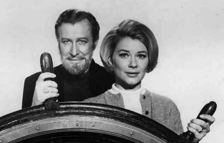 hope lange 1968, edward mulhare, american actors, 1960s television series, 1960s tv sitcoms, the ghost and mrs muir