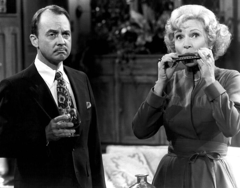 john hillerman 1977, american actor, 1970s television series, the betty white show, actress betty white, 1970s sitcoms