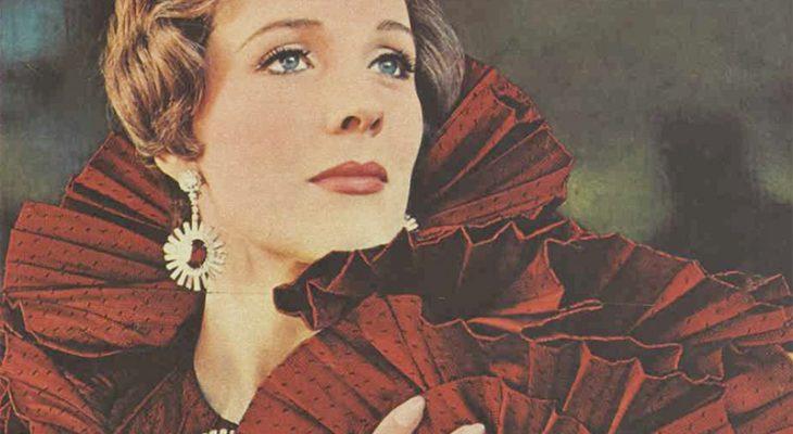 julie andrews 1968, british american actress, english singer, 1960s movies, star