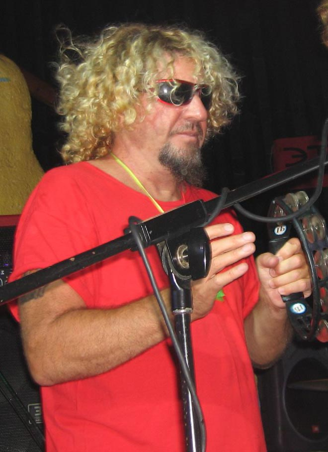 sammy hagar 2005, american singer, songwriter, rock musician, rock and roll hall of fame, older, senior citizen