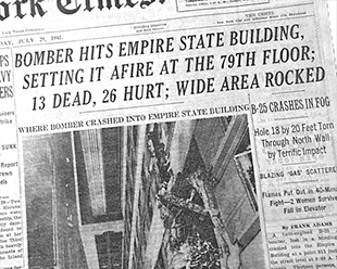 1945 july, july 1945, world war ii, wwii, baby boomers, baby boomer trivia, baby boomer generation, seniors, senior citizen, septuagenarian, us president harry truman, empire state building b52 crash, new york city airplane crash july 1945, betty lou oliver