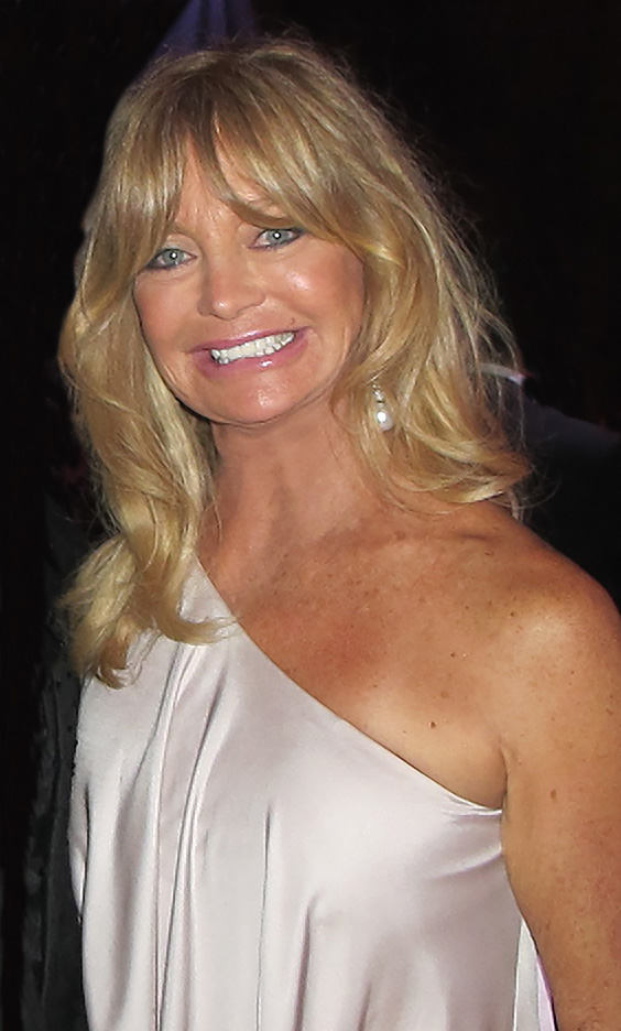 goldie hawn 2011, american comedian, actress, dancer, older, senior citizen