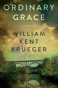 william kent krueger, american novelist, writer, author ordinary grace, 2013 edgar award best novel, ordinary grace book cover