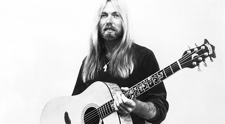 gregg allman 1986, american r and b musician, southern rock music, rock guitarist, keyboardist, the allman brothers band, rock songwriter, grammy awards, hit singles, im no angel, my only true friend, midnight rider, gregg allman younger,