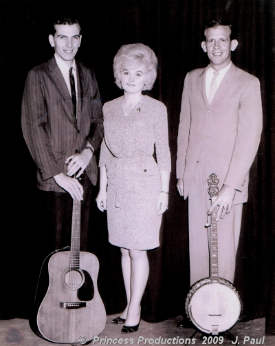 dolly parton 1950s, dolly parton early 1960s, american singer, country music, bluegrass music, larry mathis, bud brewster, the pick n grin bluegrass band