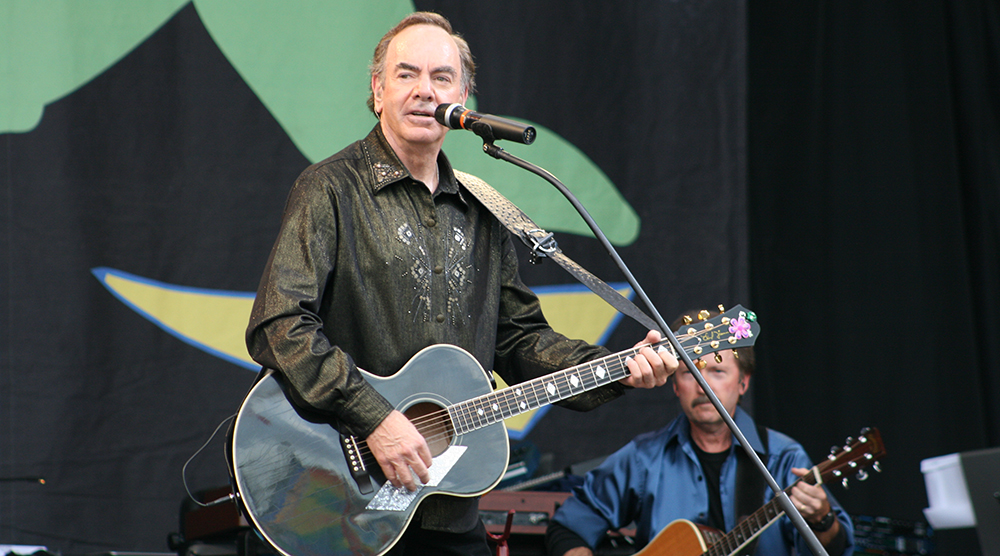 neil diamond 2008, american singer, songwriter, senior citizen, septuagenarian, neil diamond older, neil diamond performing