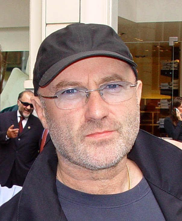 phil collins 2007, older