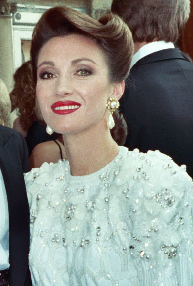 jane seymour 1988, english actress, american actress, emmy awards, red carpet, tv series