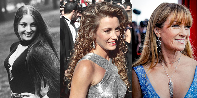 jane seymour 1973, 1994, 2014, red carpet, awards, 50 plus years, younger, middle age, older