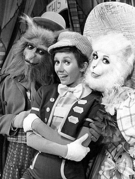 sandy duncan 1977, flip wilson, liz torres, 1970s television specials, pinocchio 1977 tv special, american actresses