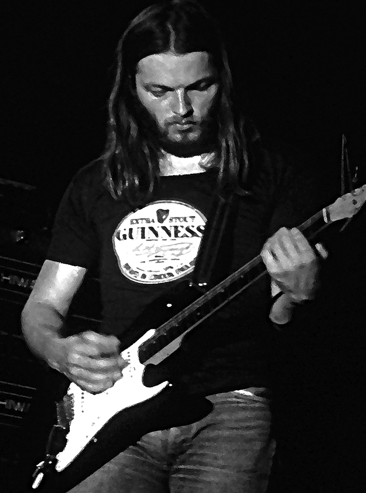 david gilmour 1970s, english rock musician, british rock guitarist, rock vocalist, lead singer pink floyd, pink floyd 1970s