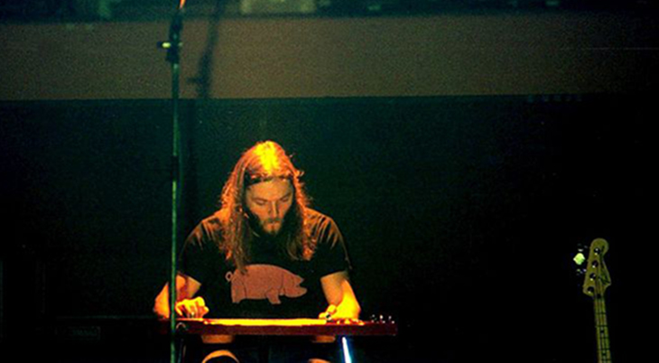 david gilmour 1977, english musician, steel lap guitar, david gilmour younger, british rock guitarist