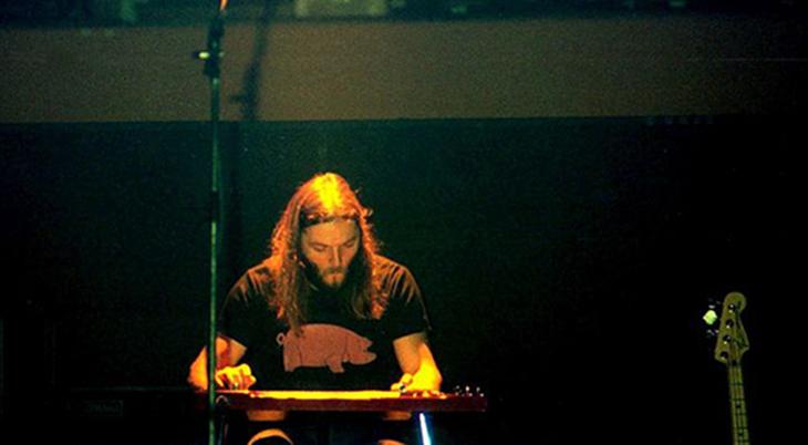 david gilmour 1977, english musician, steel lap guitar, david gilmour younger, british rock guitarist