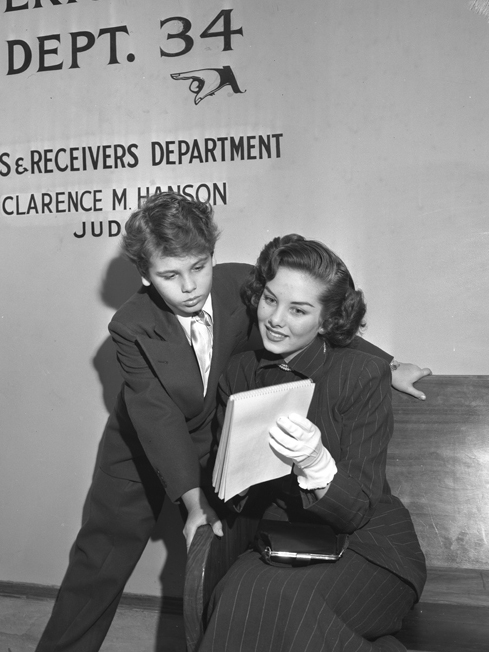 dean stockwell 1949, colleen townsend, child actor, 1940s movies, 1950s movies, american actor