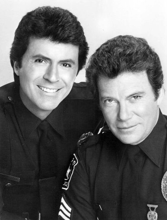 william shatner 1983, canadian actor, 1980s televison series, tj hooker, costar james darren