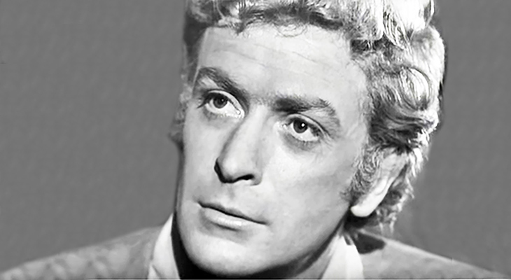 michael caine 1964, english actor, 1960s movies, hamlet at elsinore, british movie stars