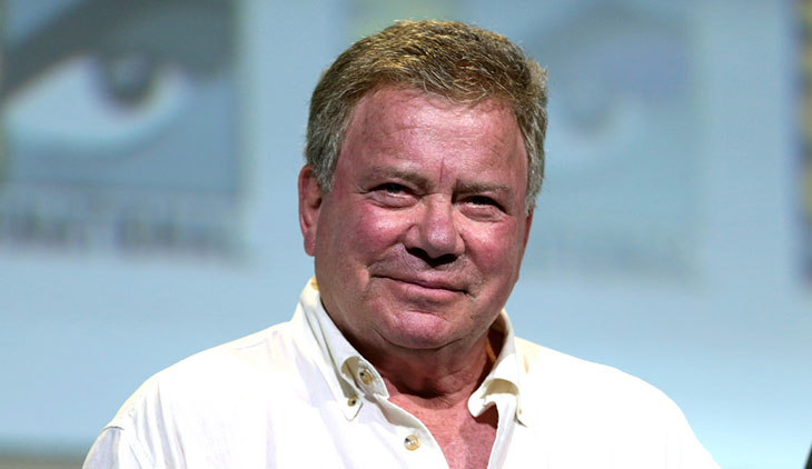 william shatner 2016, canadian actor, william shatner older, octogenarian senior citizen