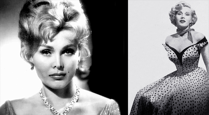 zsa zsa gabor, gabor sisters, hungarian american actress, movie stars, classic films,