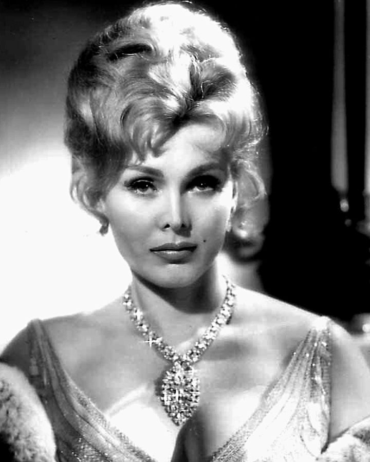 zsa zsa gabor 1959, hungarian american actress, 1950s movies, movie star, diva