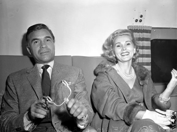 zsa zsa gabor 1954, boyfrieds, porfirio rubirosa ariza, 1950s movie stars, argentinian playboy