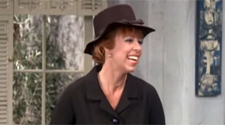 carol burnett 1966, american comedienne, comedic actress, 1960s television series, 1960s tv sitcoms, the lucy show guest star