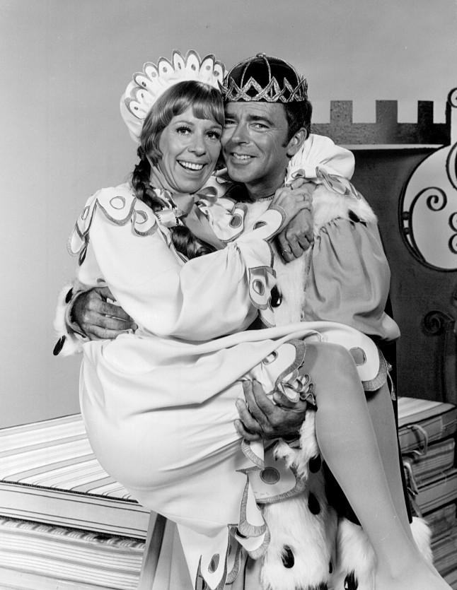 carol burnett, 1972, ken berry, once upon a mattress, 1960s tv specials, comedy, comedian, comedy television shows