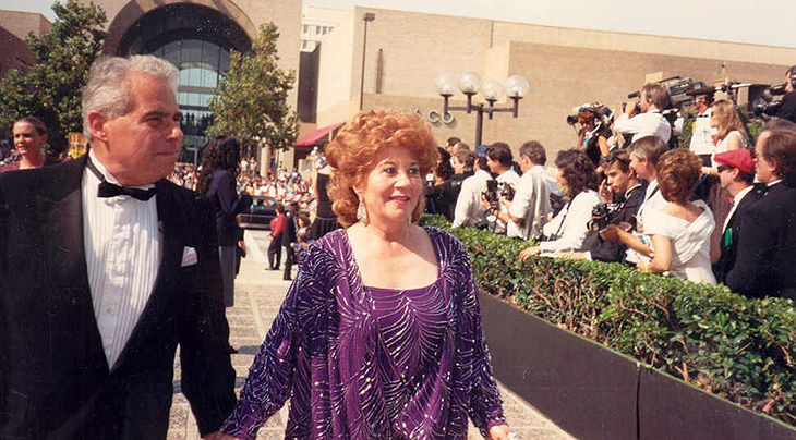 charlotte rae 1988, 40th primetime emmy awards, 50 plus years, senior citizen, american actress, facts of life mrs garrett