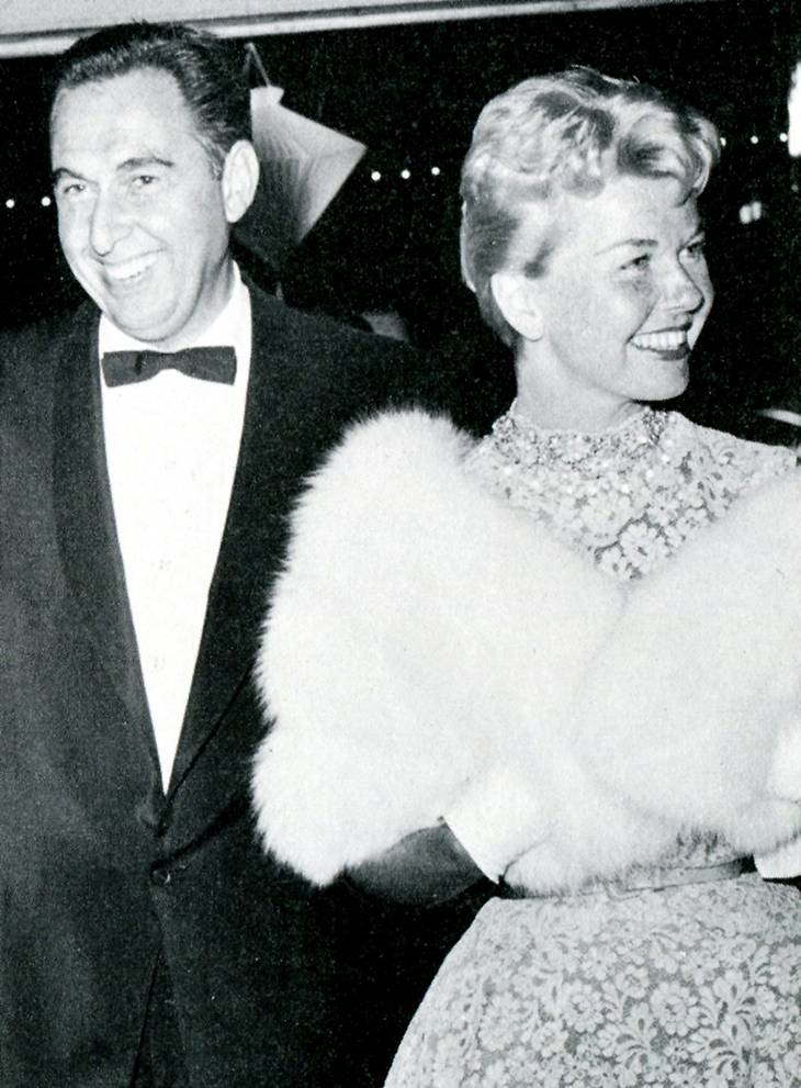 doris day 1960s, martin melcher, doris day husband martin melcher
