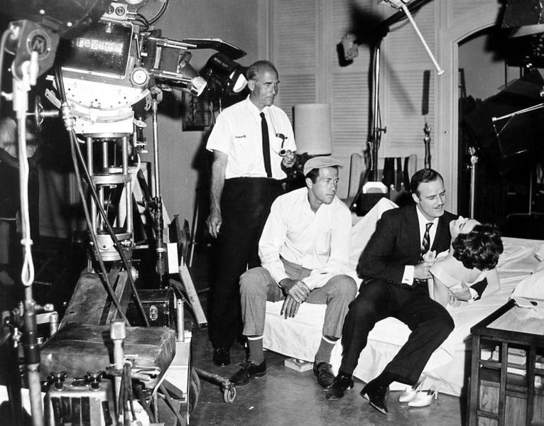 george englund 1963, american director, movie producer, 1960s movies, the ugly american, marlon brando, sandra church, american actors, clifford stine, cinematographer, friends, behind the scenes