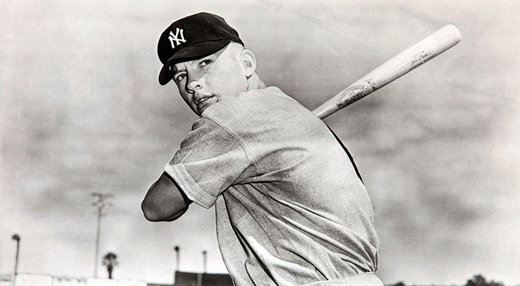 1951 april, mickey mantle, major league baseball players, mlb hall of fame player, new york yankees, right fielder