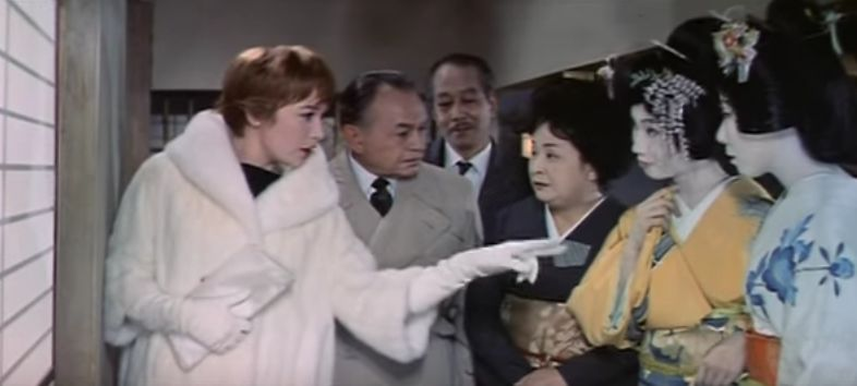 shirley maclaine 1962, edward g robinson, american actress, actor, 1960s movies, comedy movies, my geisha, japanese