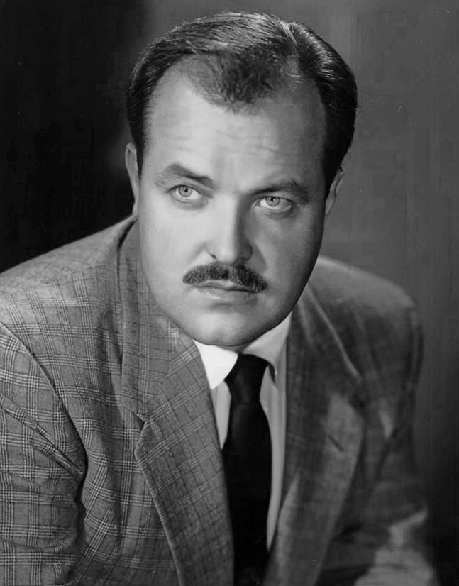 william conrad 1952, american actor, younger, 1940s movies, 1950s movies