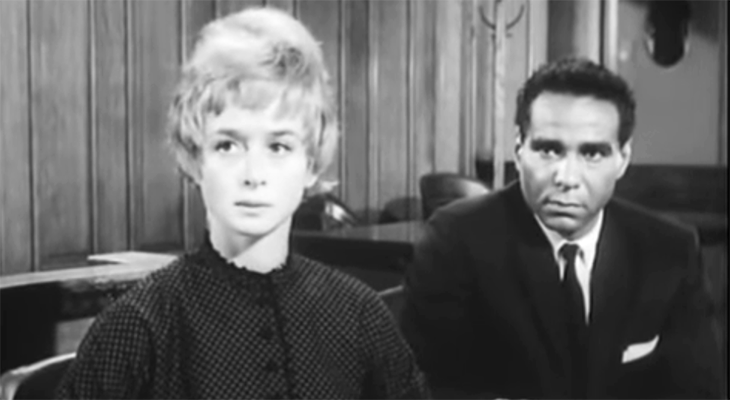 barbara barrie 1964, american actress, bernie hamilton, african american actor, 1960s movies, one potato two potato, 1960s interracial romance films,