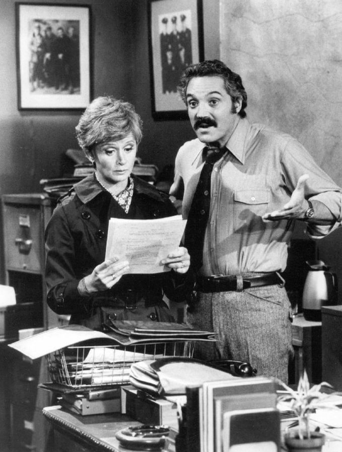 barbara barrie 1975, hal linden, barney miller, 1970s sitcoms, 1970s television shows, american actor, american actress
