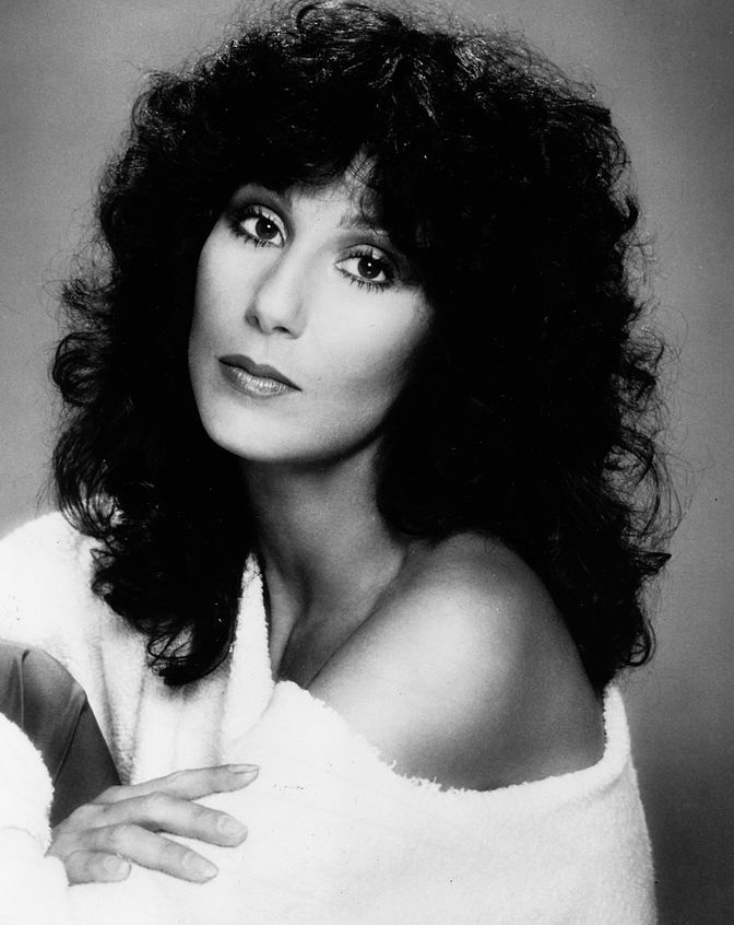 cher 1970s, younger, american singer, actress, musical variety tv shows, married sonny bono, divorced