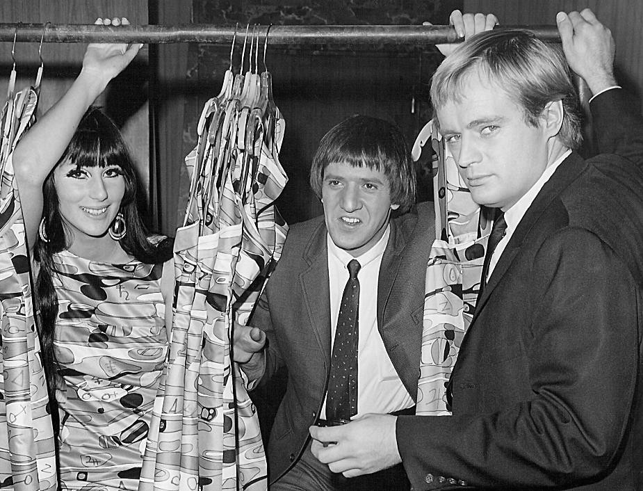 cher 1967, sonny bono, sonny and cher, david mccallum, the man from uncle, 1960s tv series, guest starring appearances