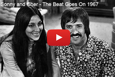 sonny and cher, hit singles, the beat goes 1967