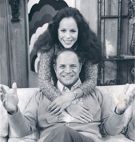 don rickles 1972, louise sorel 1971, the don rickles show, 1970s sitcoms, 1970s television shows, american actor, comedian