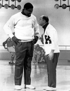 don rickles 1968, roosevelt grier, kraft music hall, comedy, nbc television, american comedian, standup comedy, sketch comedy