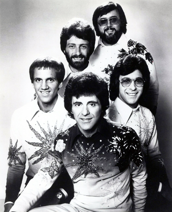 frankie valli, the four seasons 1976, american vocal groups, gerry polci, don ciccone, john paiva, lee shapiro,