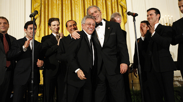 frankie valli 2008, francesco castellucio, the four seasons, italian american, falsetto singer, president george bush, jersey boys, hit songs, sherry, big girls dont cry, walk like a man, rag doll, cant take my eyes off of you, my eyes adored you, grease,