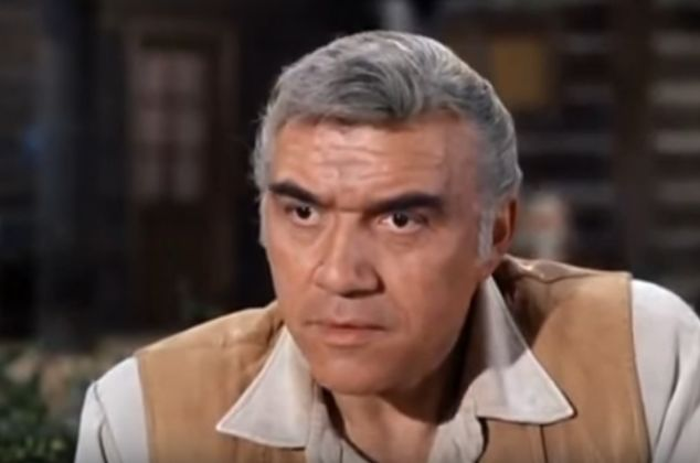 lorne greene 1960, canadian actor, american actor, bonanza tv show, ben cartwright, the cartwright family father, 1950s westerns, 1960s western tv shows, classic western television series