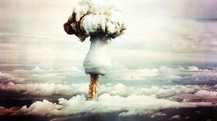 1951 may, h-bomb test, hydrogen bomb test, george test bomb, pacific island, thermonuclear bomb testing, enewak atoll, pacific ocean, united states atomic tests, operation greenhouse