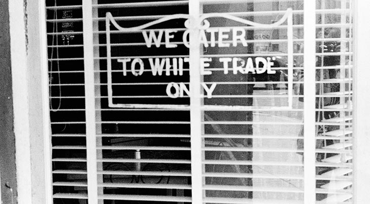 racial segregation, civil rights movement, restaurant segregation, jim crow laws, supreme court decisions, white trade only sign, restaurant signs