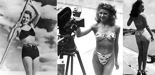 bikini, 1946, june, french, paris, louis reard, jacques heim