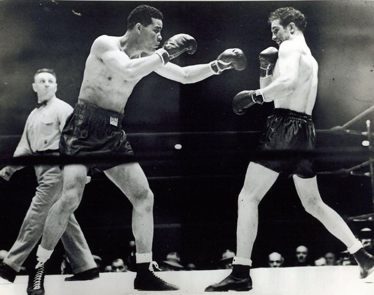 joe louis, billy conn, 1946 fight, boxers, heavyweight championship